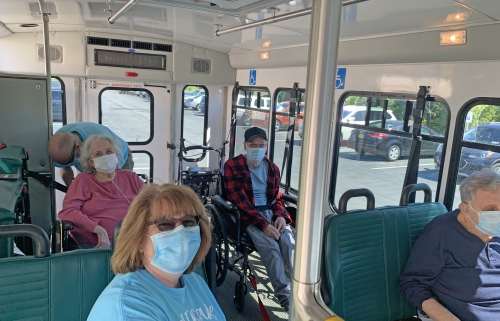 St. Luke Bus Provides Our Residents With A Safe Way To Tour The Area